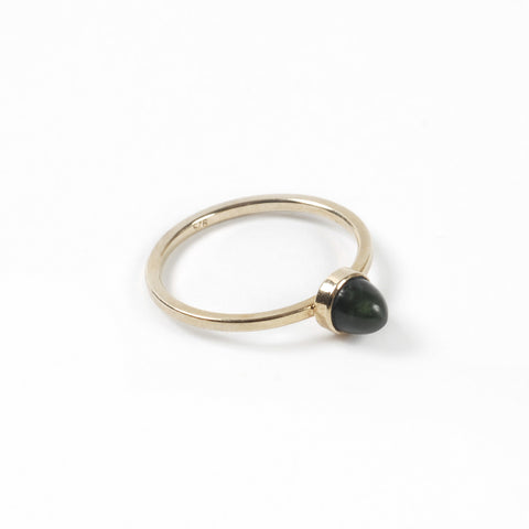 Gold Thorn Pounamu Ring - Auckland Art Gallery Shop