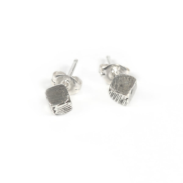 Rock Stud Earrings