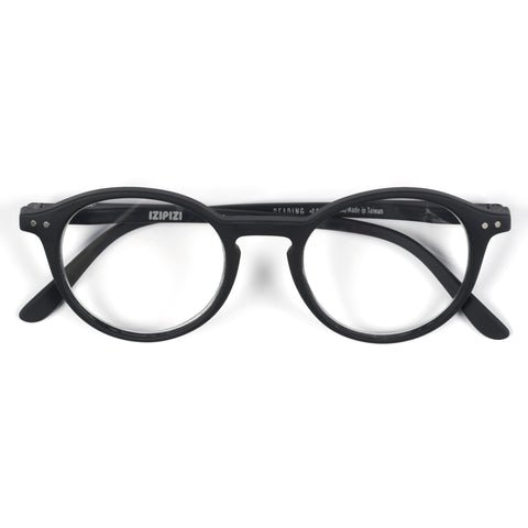 Black Reading Glasses Style D