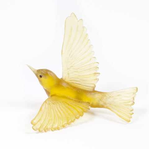 Chardonnay Wax Eye Glass Bird