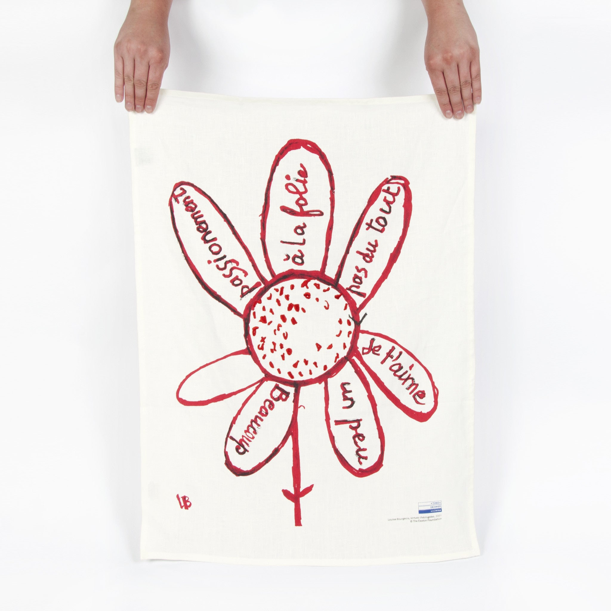 Louise Bourgeois Linen Tea Towel Image