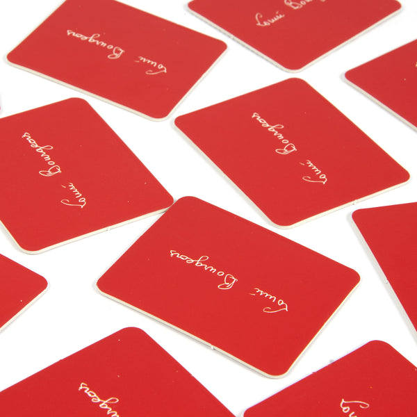 Louise Bourgeois Memory Card Game