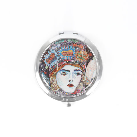 Kathryn Barton Purse Mirror