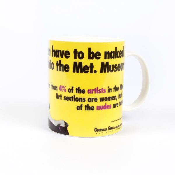 Guerrilla Girls Met Museum Mug