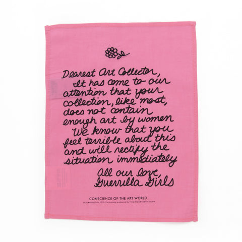 Guerrilla Girls Art Collector Handkerchief