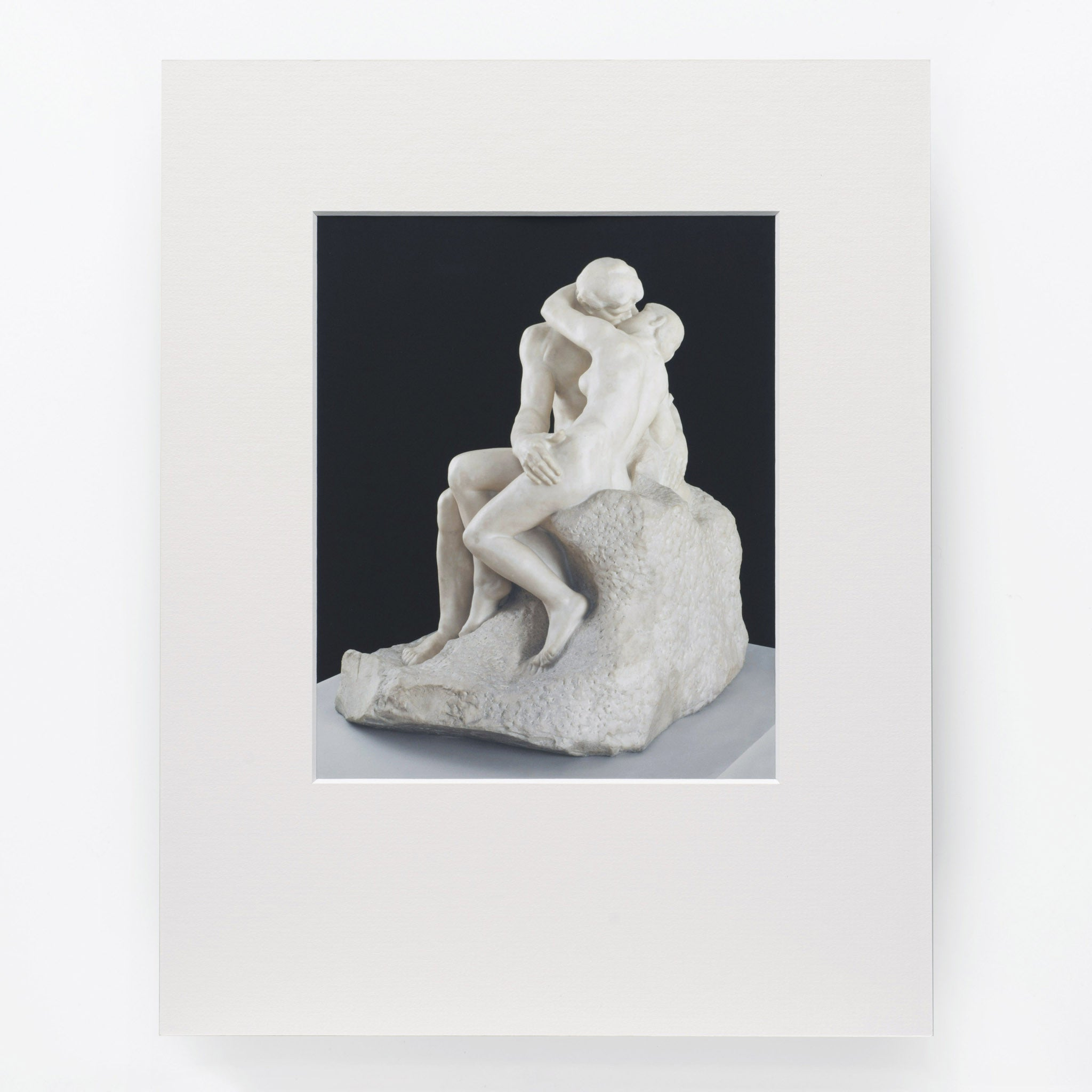 Auguste Rodin 'The Kiss' Print Image