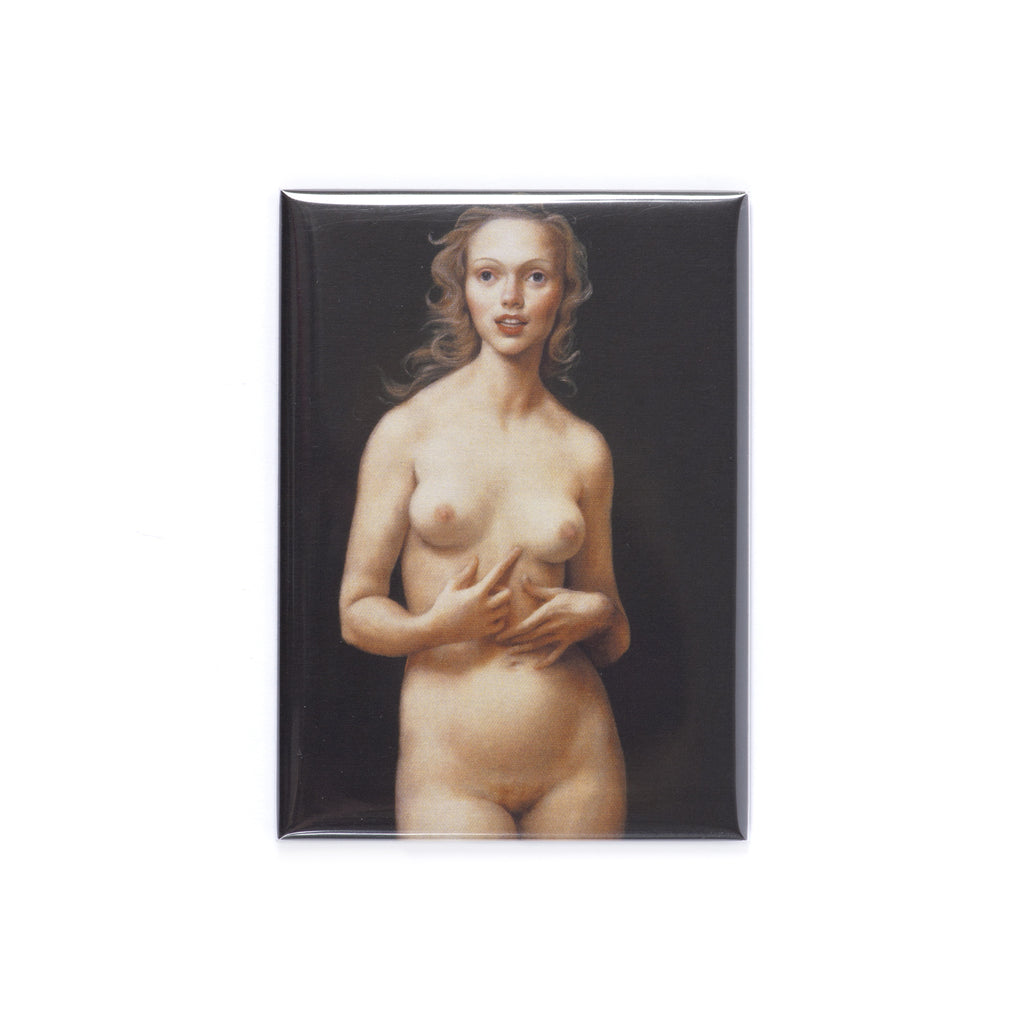 John Currin 'Honeymoon Nude' Magnet