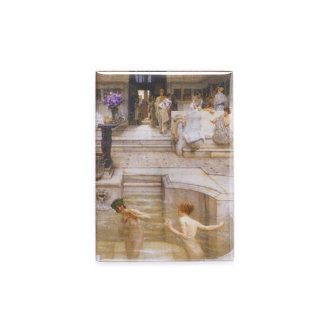 Sir Lawrence Alma-Tadema 'A Favourite Custom' Magnet