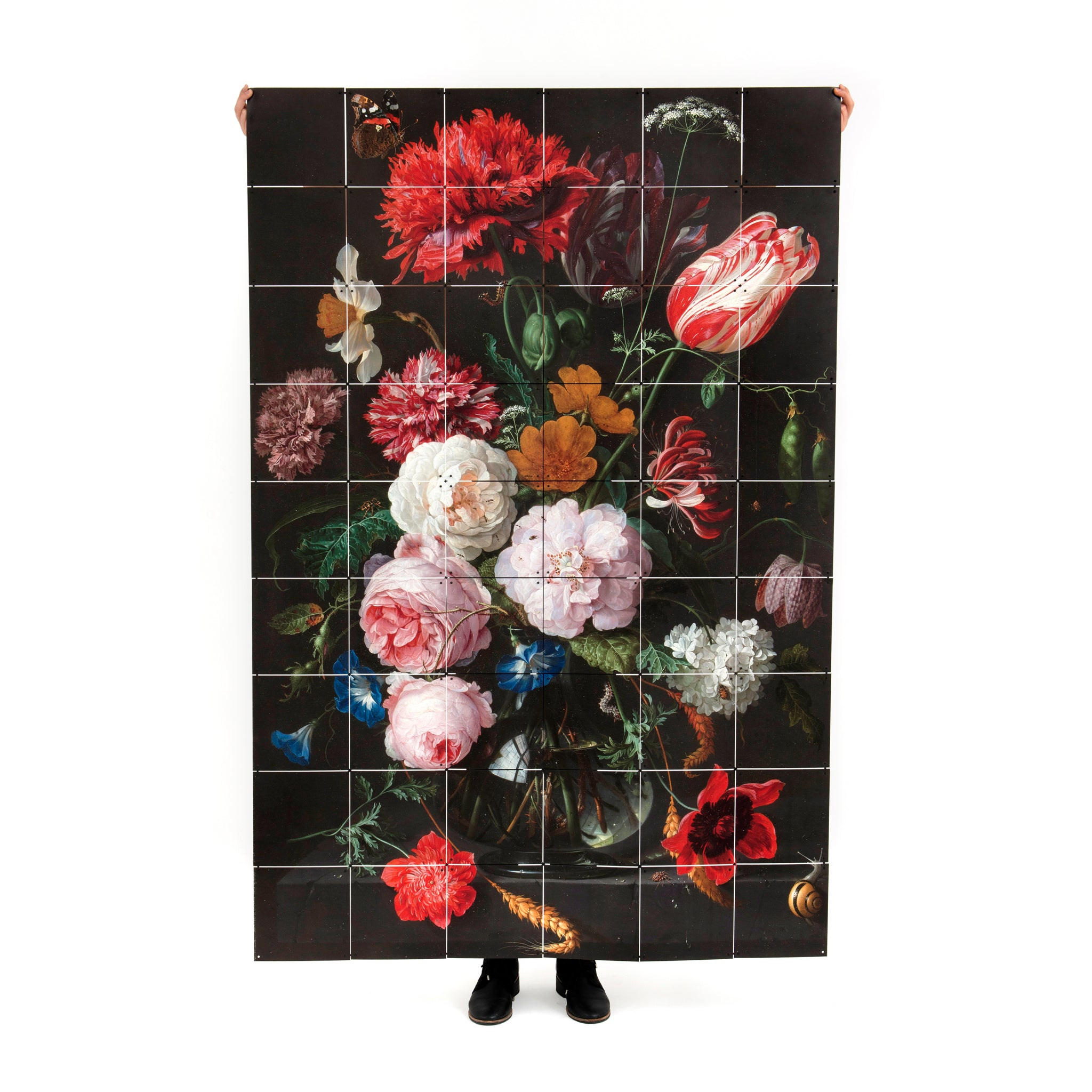 Still Life with Flowers Wall Hanging Image