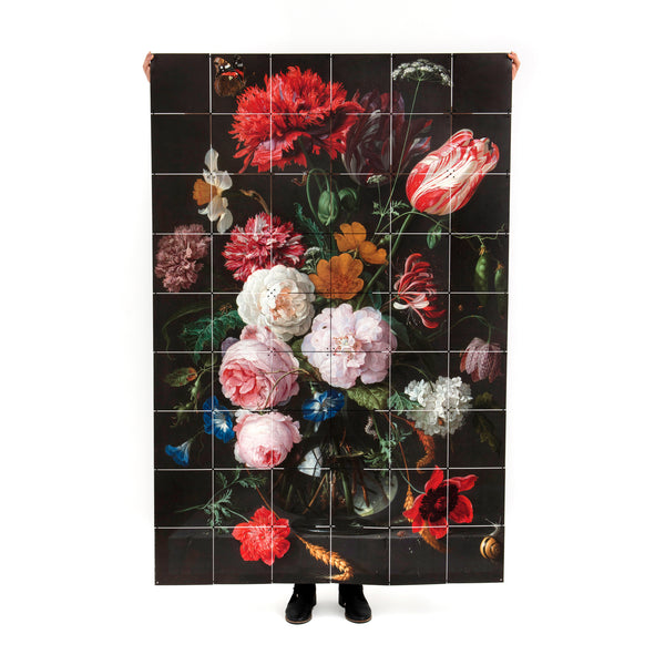 Still Life with Flowers Wall Hanging
