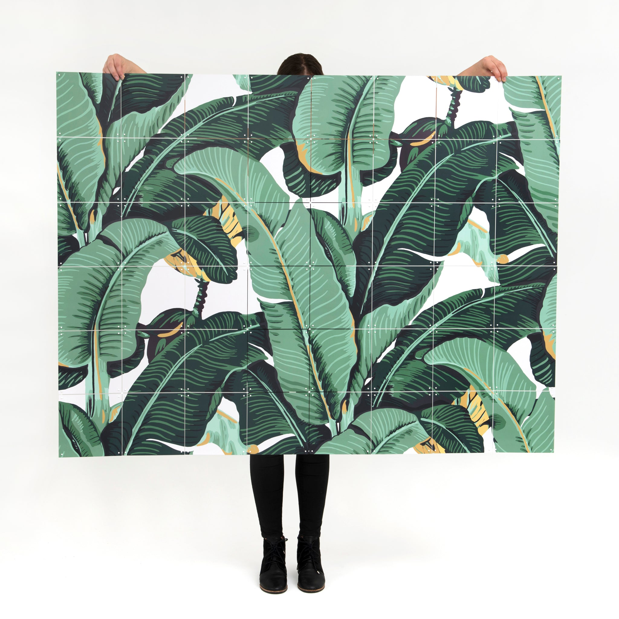 Banana Leaf Wall Hanging Image