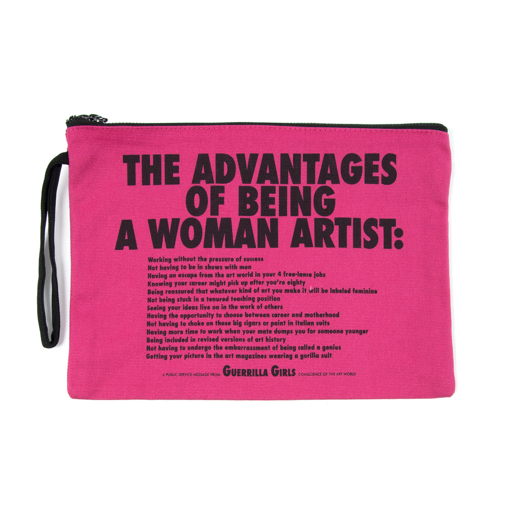 Guerrilla Girls Clutch