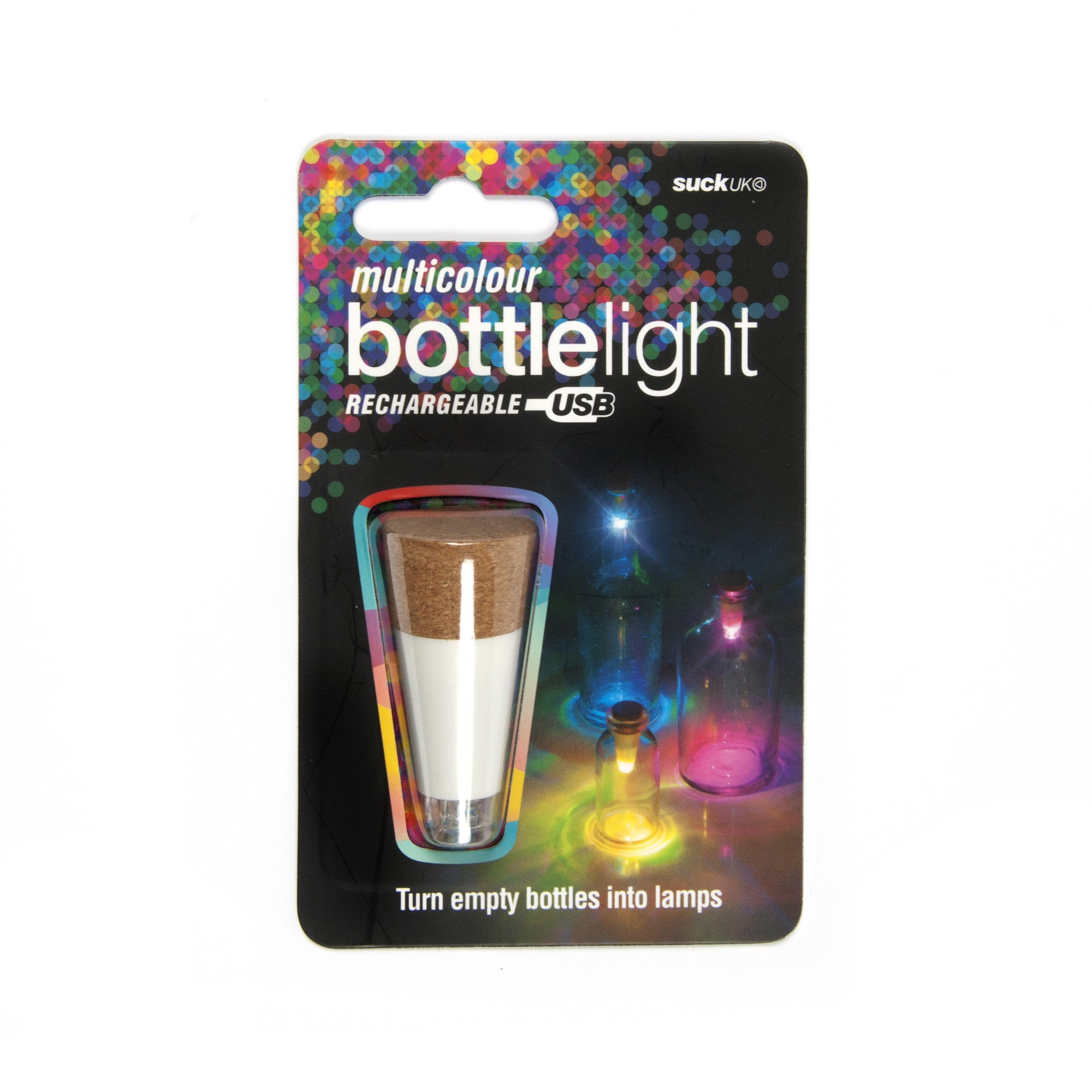 Multicolour Bottle Light Image