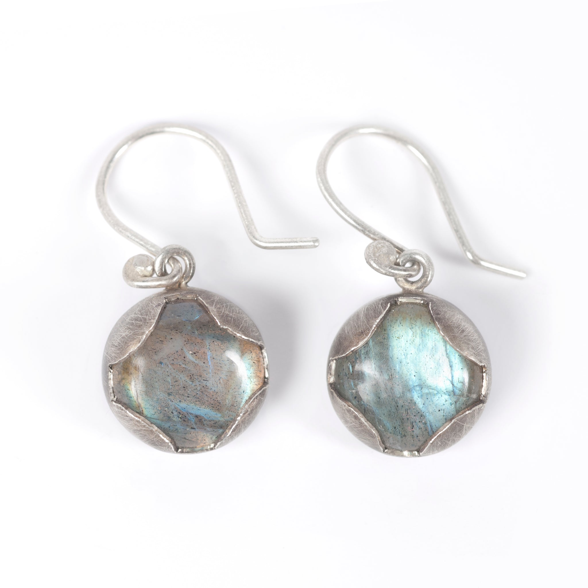 Labradorite Transformer Earrings Image