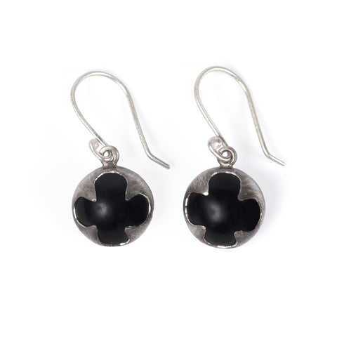 Onyx Protector Earrings
