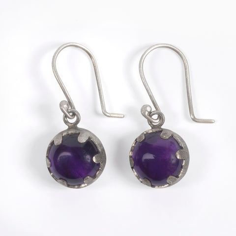 Amethyst Magician Earrings