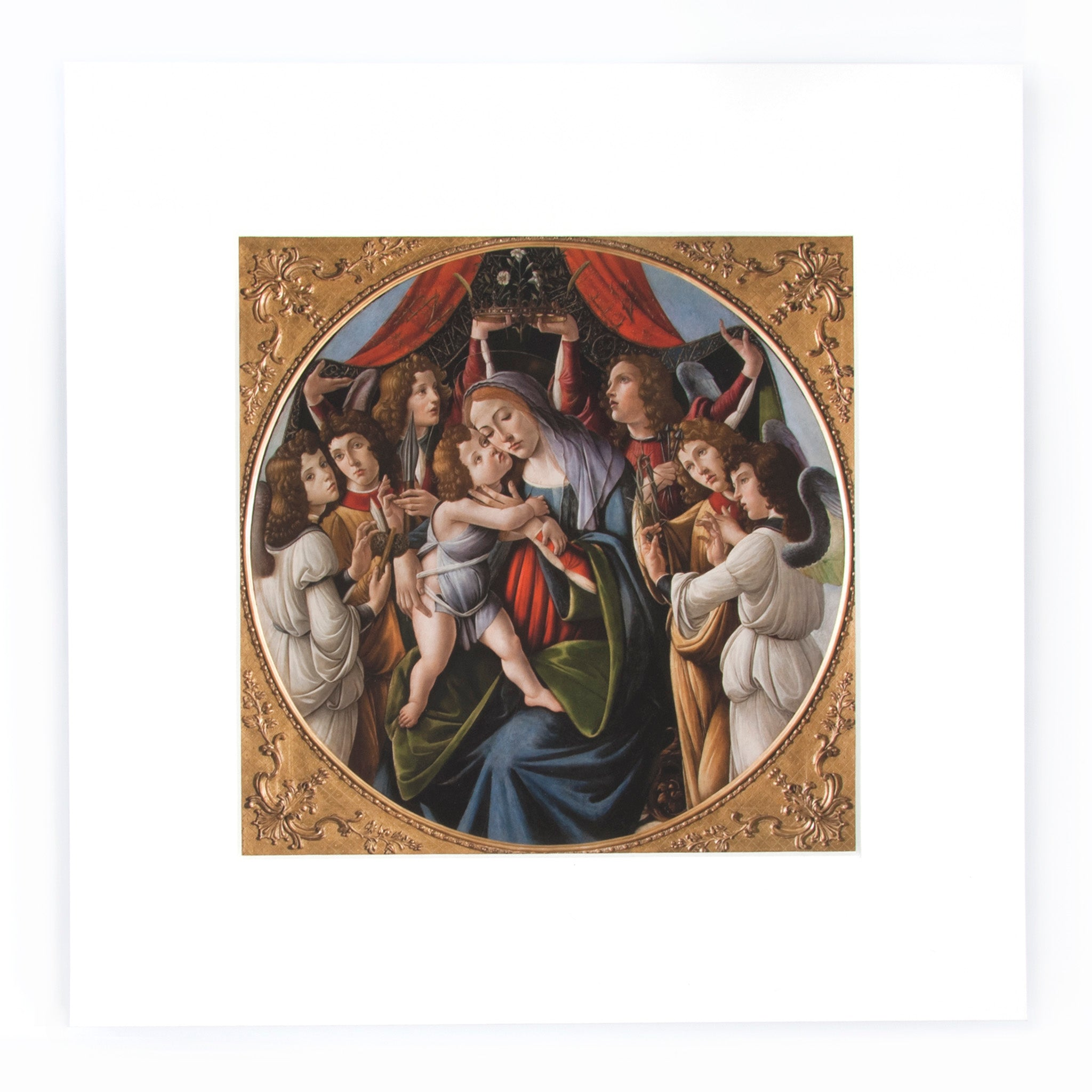 Botticelli 'Madonna and Child' Print Image