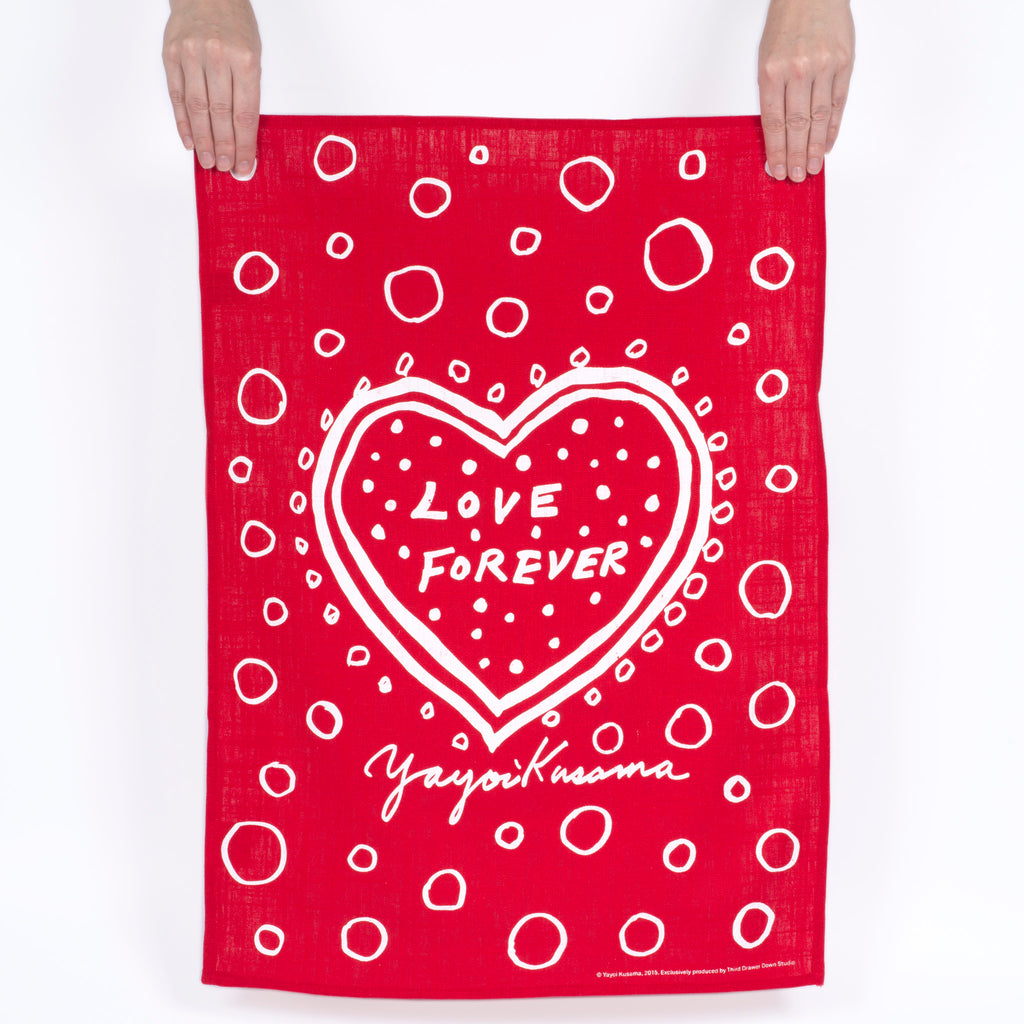 Love Forever Tea Towel