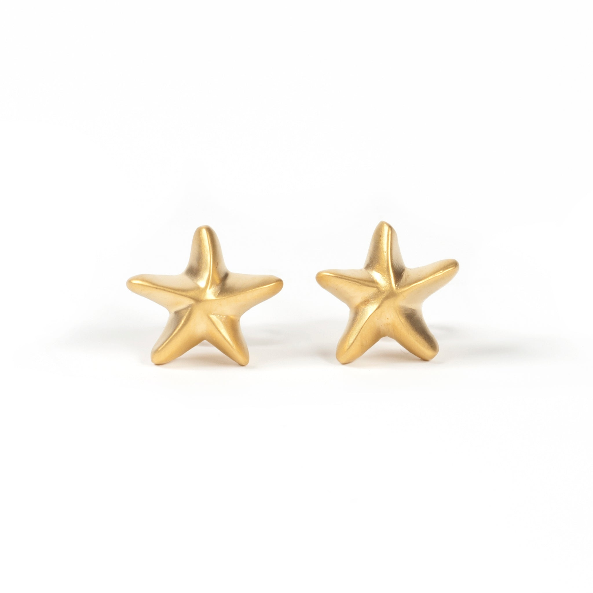 Gold Starfish Studs Image