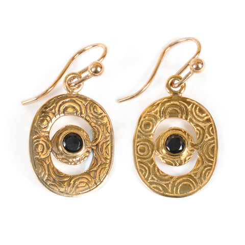 Artemis Gold Earrings