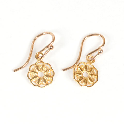 Mini Wild Gold Earrings
