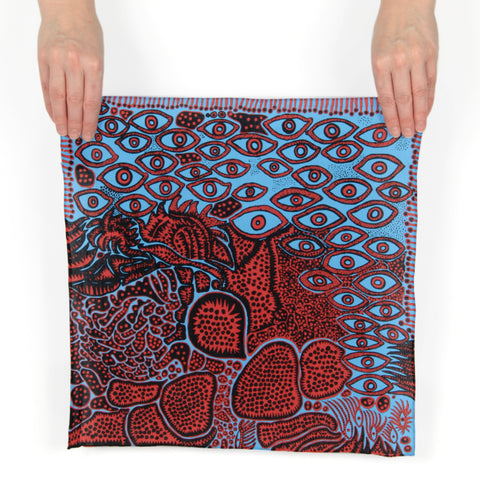 Yayoi Kusama Eyes of Mine Handkerchief