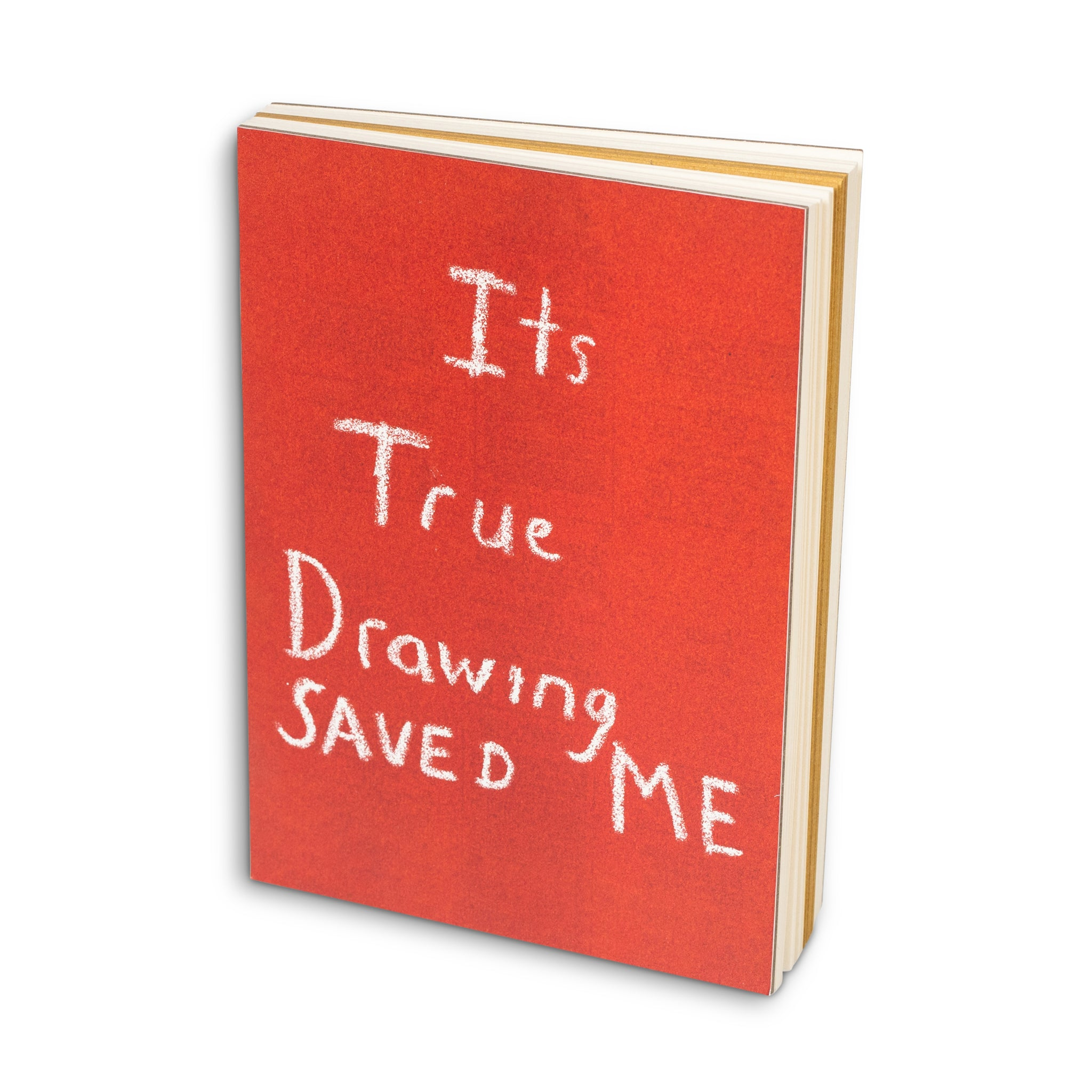 Its True Drawing Saved Me Notebook Image