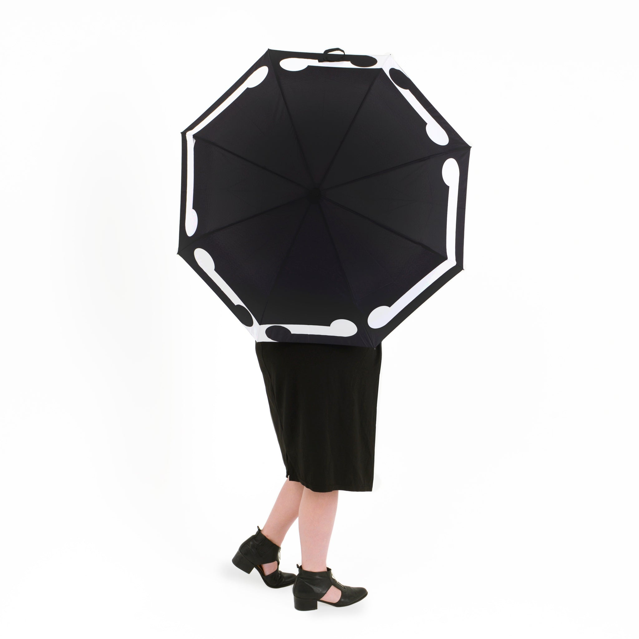 Gordon Walters Black Umbrella Image
