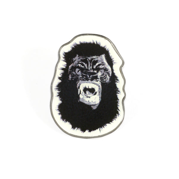 Guerrilla Girls Gorilla Pin