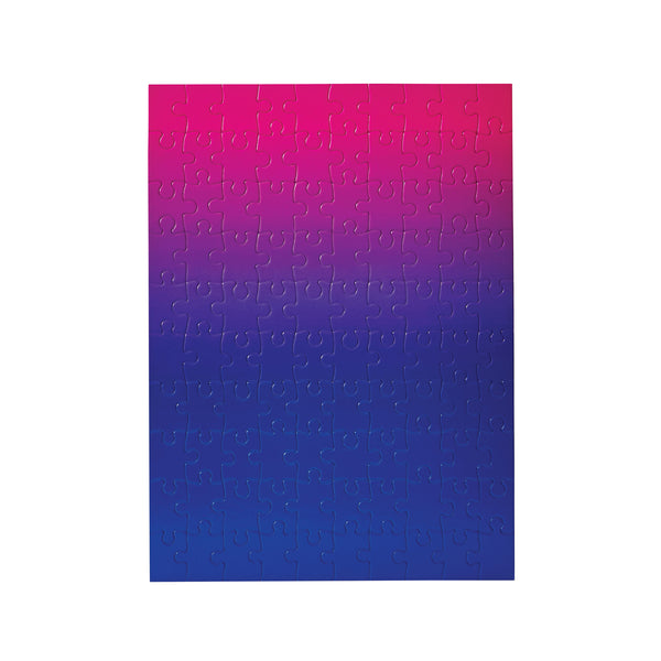 Gradient Puzzle Pink to Blue