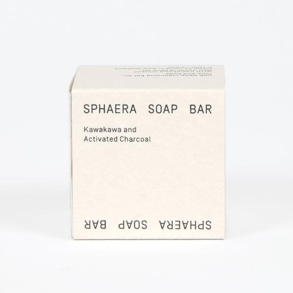 Kawakawa and Activated Charcoal Soap Bar