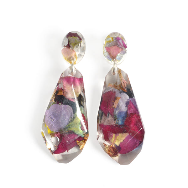 Winie Drop Floral Earrings