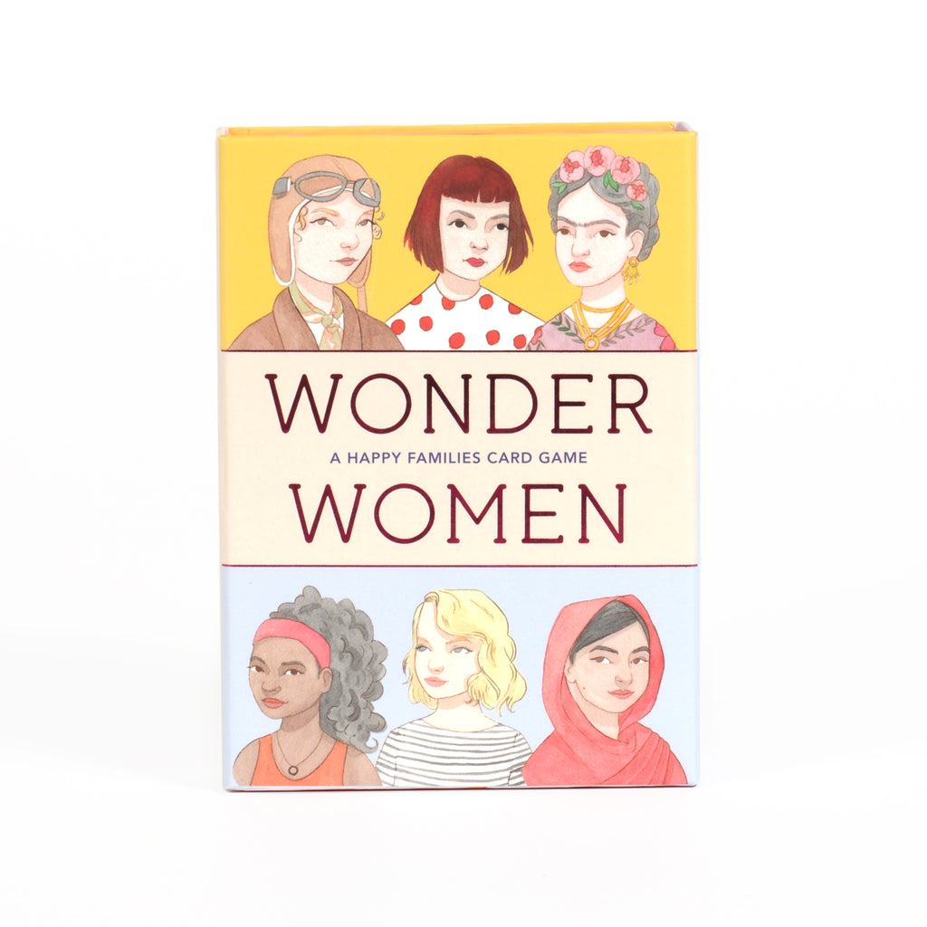Wonder Women Happy Families Game