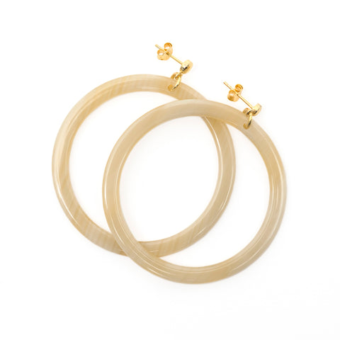 Blondie Hoop Earrings