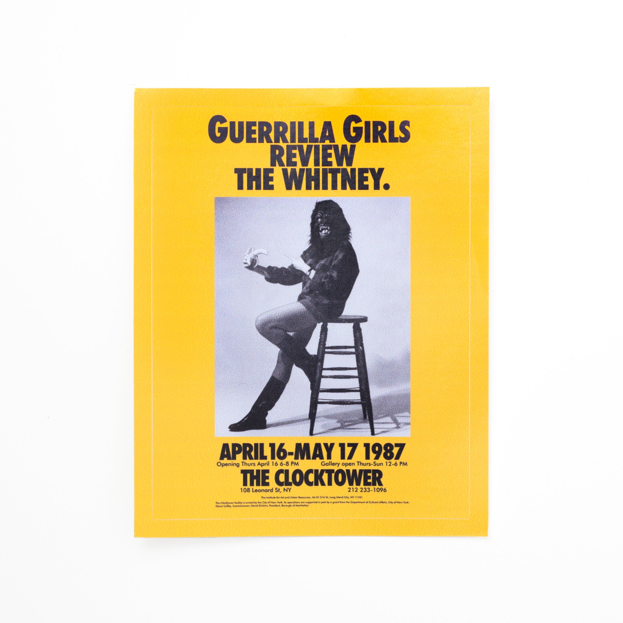 Guerrilla Girls Stickers Image