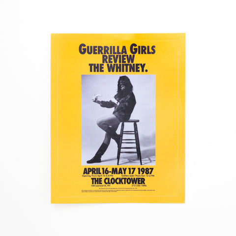 Guerrilla Girls Stickers