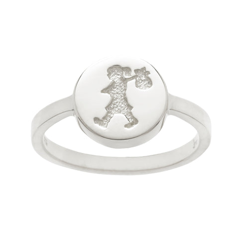 Karen Walker Runaway Stamp Ring