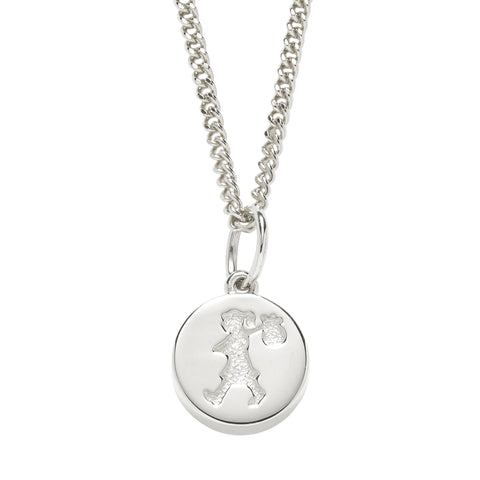 Karen Walker Runaway Stamp Necklace