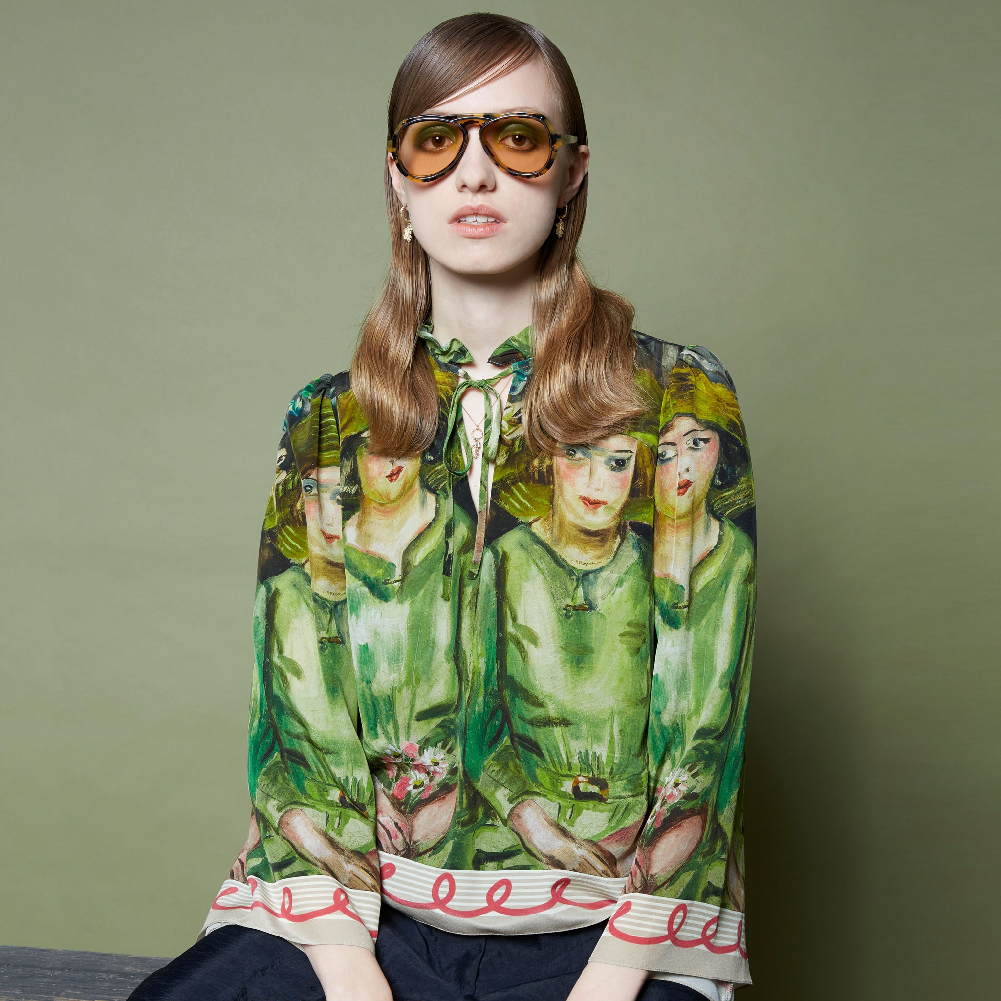 Karen Walker X Frances Hodgkins Bridesmaids Blouse Image