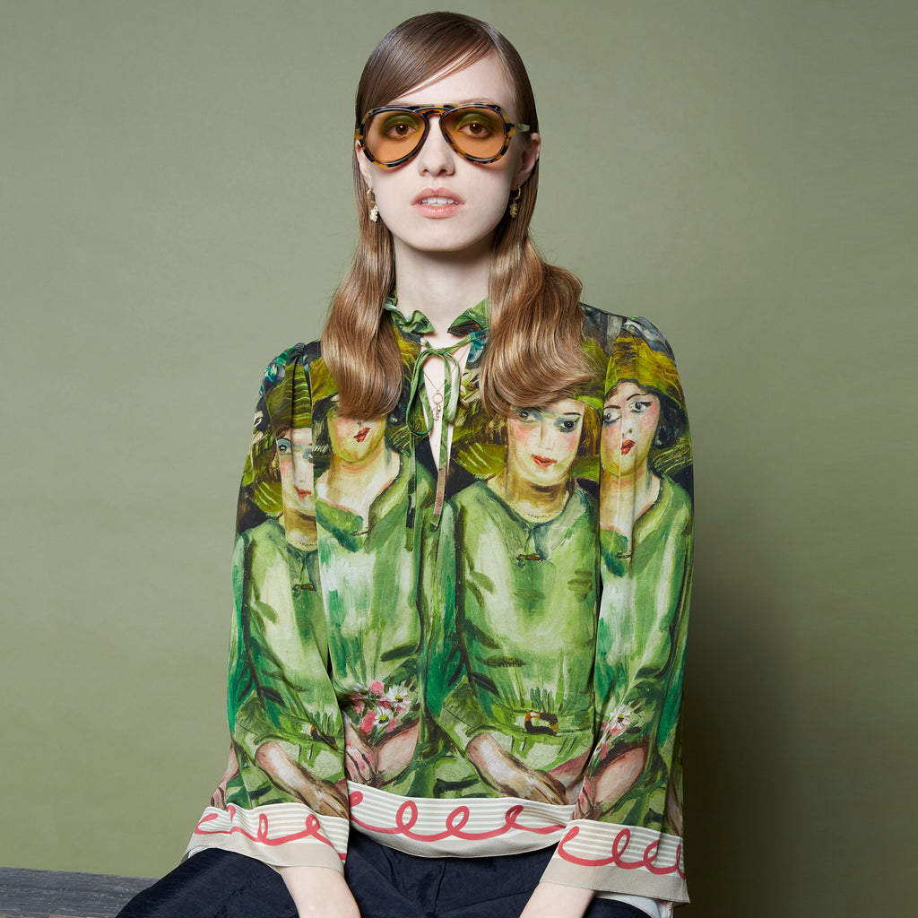 Karen Walker X Frances Hodgkins Bridesmaids Blouse
