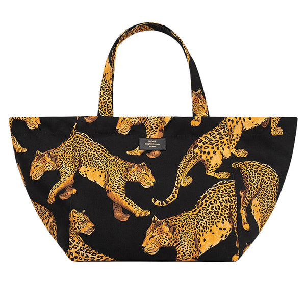 Wouf Leopard Tote