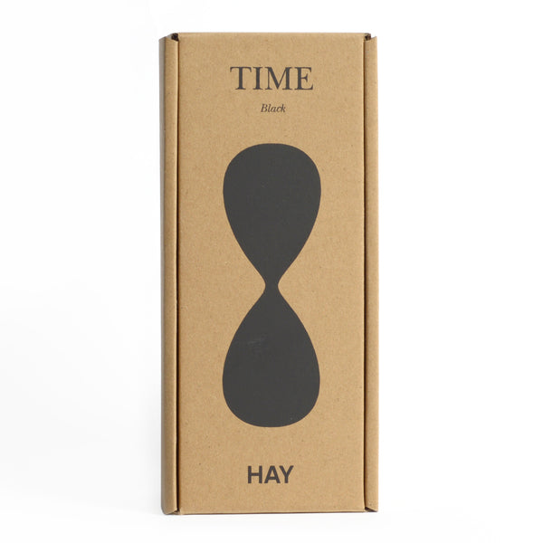 30 Minute Hay Hourglass - Black
