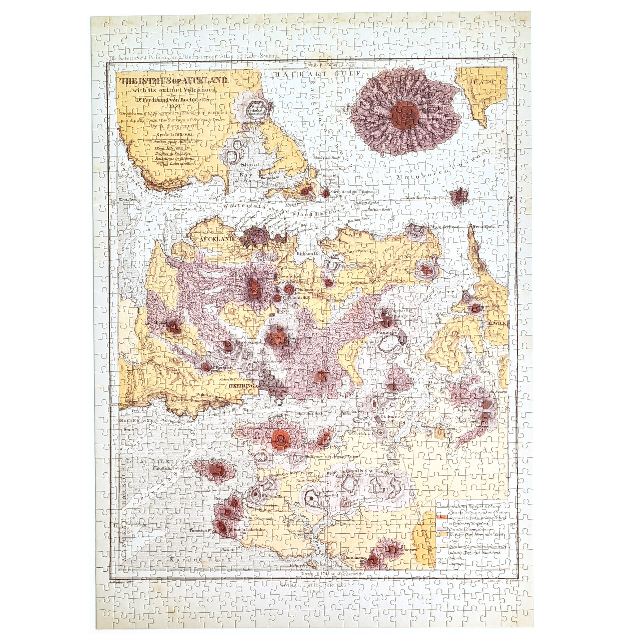 Auckland Volcanoes Puzzle Image