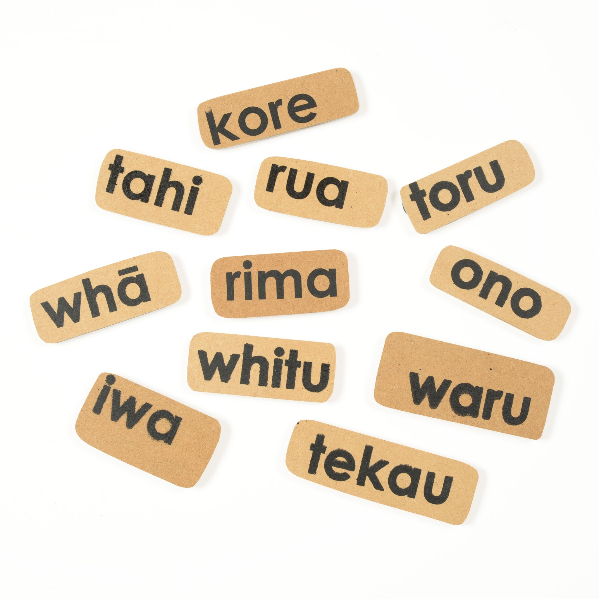 Māori Counting Magnet Set Image