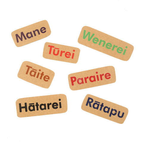 Māori Days of the Week Magnet Set