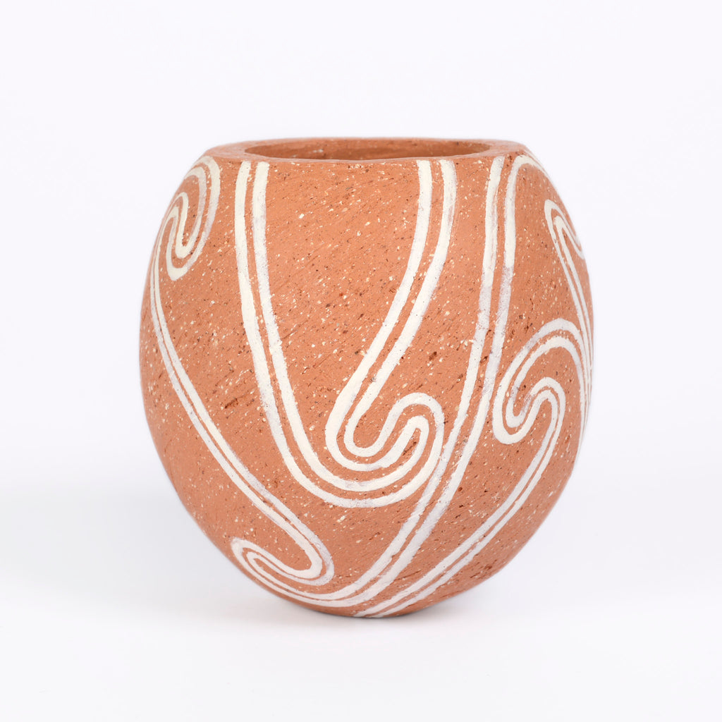 Davina Duke Small Terracotta Vase