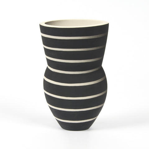 Medium Alice Rose Vase - Breton Stripe