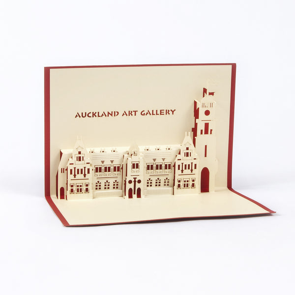 Auckland Art Gallery Pop-Up Card