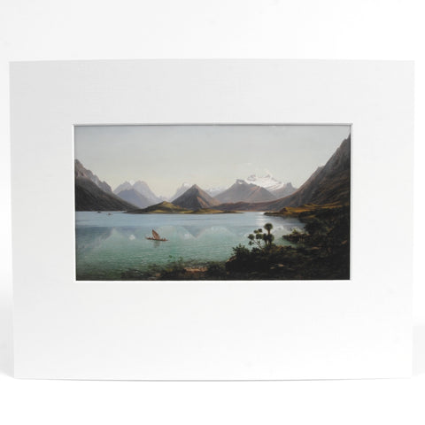 Lake Wakatipu Print - Auckland Art Gallery Shop