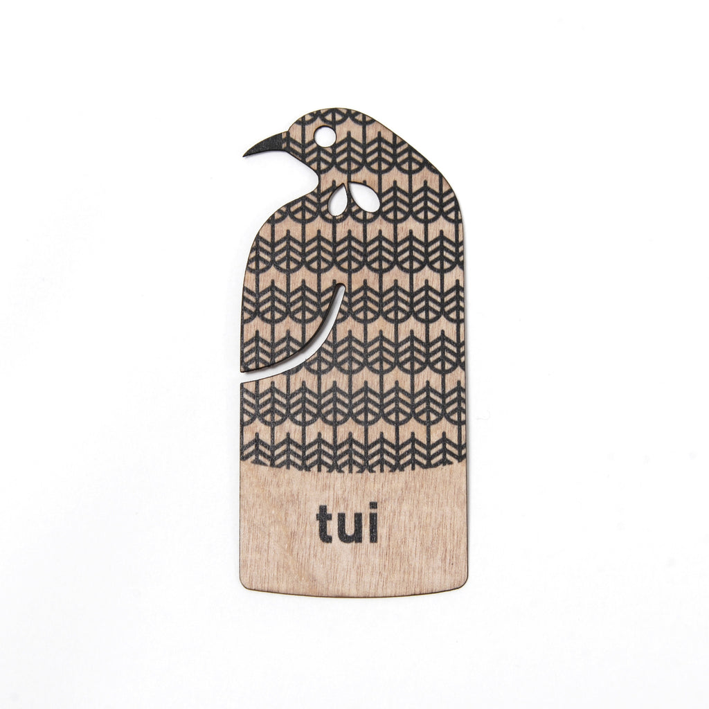 New Zealand Tui Bookmark - Auckland Art Gallery Shop